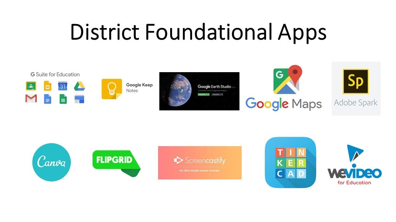 DistrictionFoundationalApps